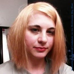 rachelle with bleached blonde hair