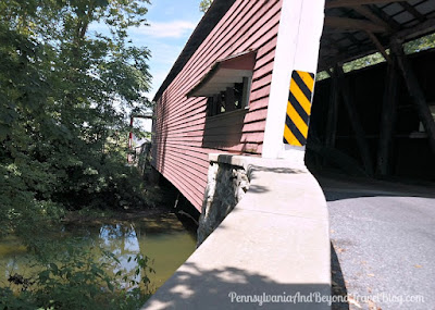 Shenk's Mill Covered Bridge in Lancaster County, Pennsylvania