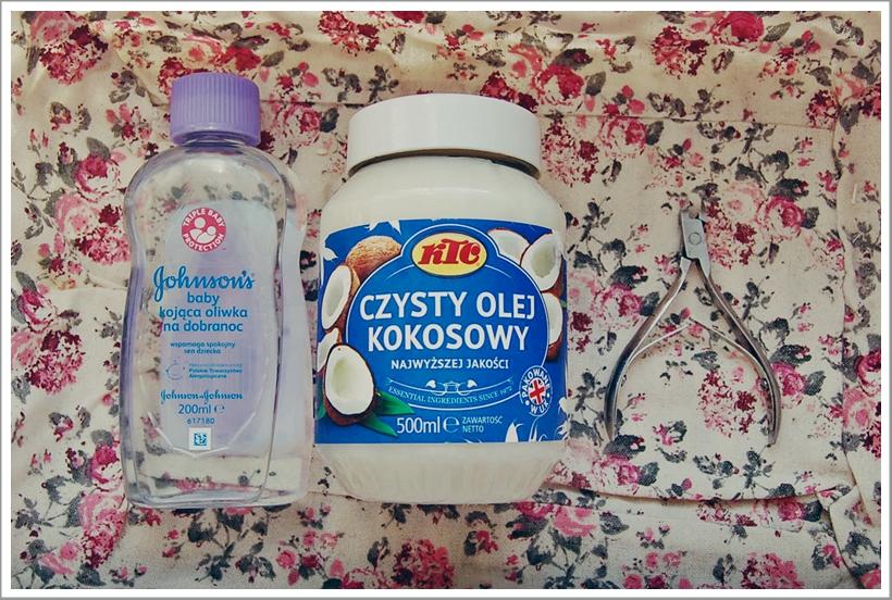olej kokosowy, pielęgnacja skórek, pielęgnacja dłoni, oliwka dla dzieci w pielęgnacji dłoni