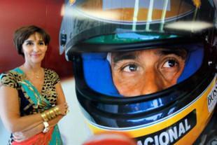 Hermana de Ayrton Senna