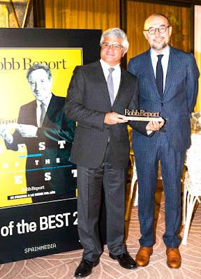 Robb Report, Premio Mejor Destino Robb Report, Robb Report Peru