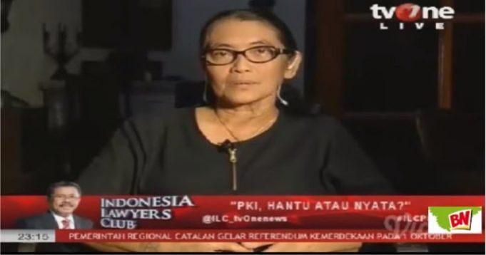 Di ILC TV One, Istri Sutradara Film G30SPKI Bongkar Kebohongan Sukmawati