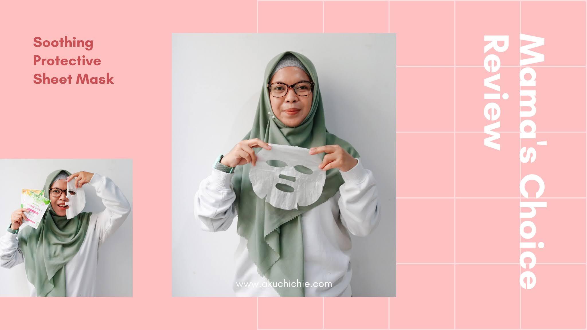Mama's Choice Soothine Protective Sheet Mask