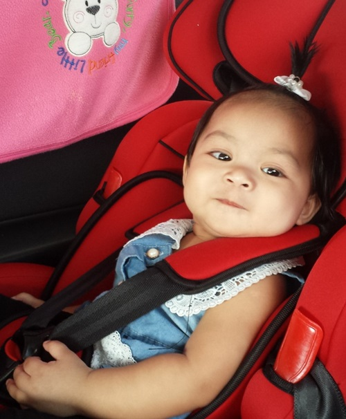amirah baby comel, baby popular, baby glamour, baby gelemer, baby famous