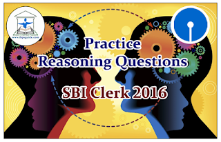 SBI Clerk 2016- Practice Reasoning Questions (Seating Arrangement)