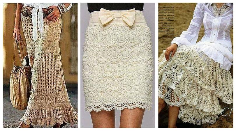 Dorable Patrones Falda Crochet Molde - Ideas de Patrones de Costura ...
