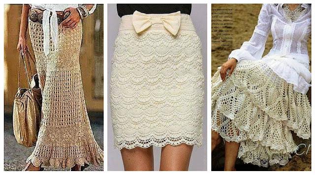 7 Faldas Románticas a Crochet - Colección de Patrones