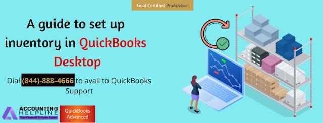 Set up Inventory in QuickBooks