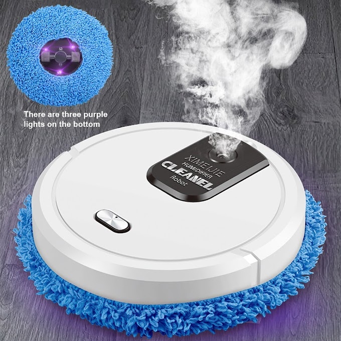 Robot Vacuum Cleaner USB Charging Household Rotary