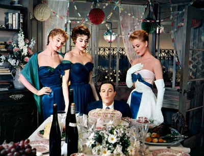 Orry-Kelly Oscar Winning Costumes From 1957's Les Girls