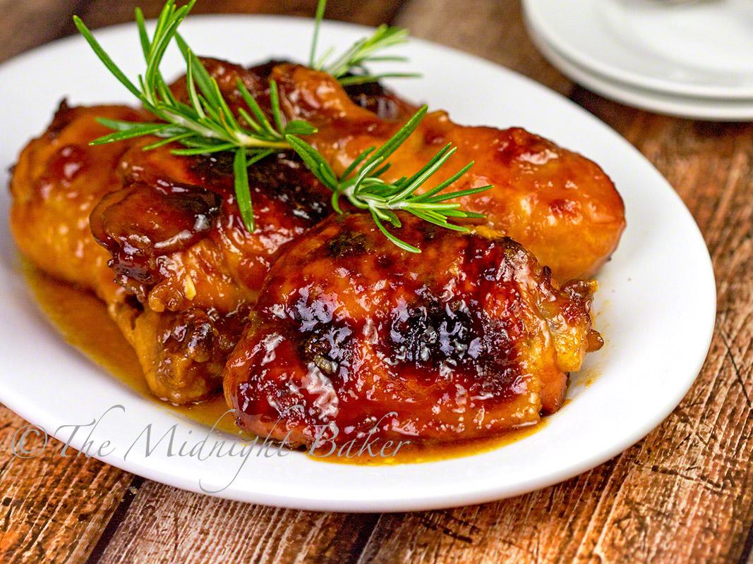 Apricot Chicken - The Midnight Baker