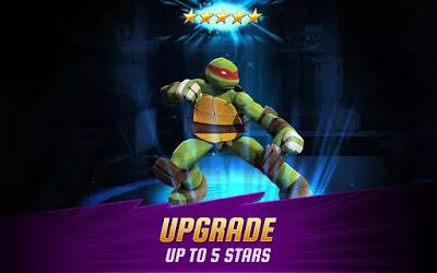 تحميل لعبة السلاحف النينجا الرائعة Ninja Turtles: Legends بنسختها المهكرة كاملة للاندرويد
