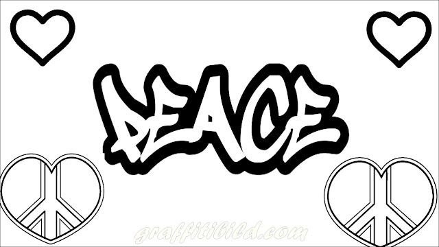 Ausmalbilder graffiti, graffiti coloring pages, graffiti, bilder