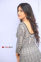 Actress Chandini Chowdary Pos in Short Dress at Howrah Bridge Movie Press Meet  0079.JPG