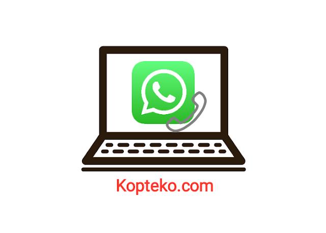 Cara Nelpon WhatsApp di PC