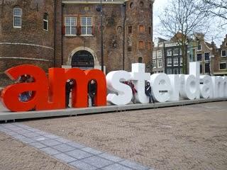 Scritta Amsterdam