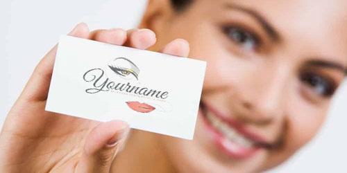 Tarjetas de makeup artist profesional