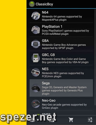 Emulator Sega CD Android CalssicBoy