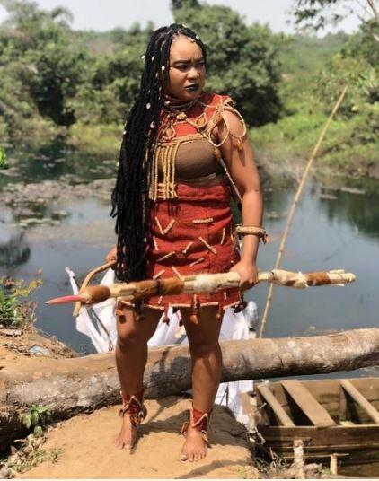ermalink - /2019/01/nollywood-actress-rachael-okonkwo-rocks-hunters-attire-on-set-.html Title Link - http://Nollywood Actress, Rachael Okonkwo Rocks Hunter's Attire On Set