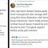 """Seru! Perang Twitter Yusril vs Menaker soal """"Banjir TKA dari China"""""""