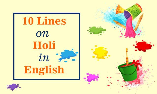 10 Lines on Holi