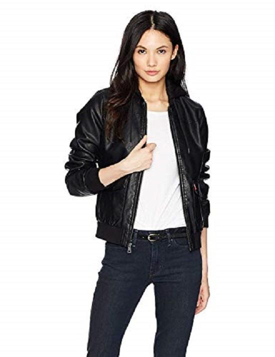 """""""Slim"""" leather jacket"""