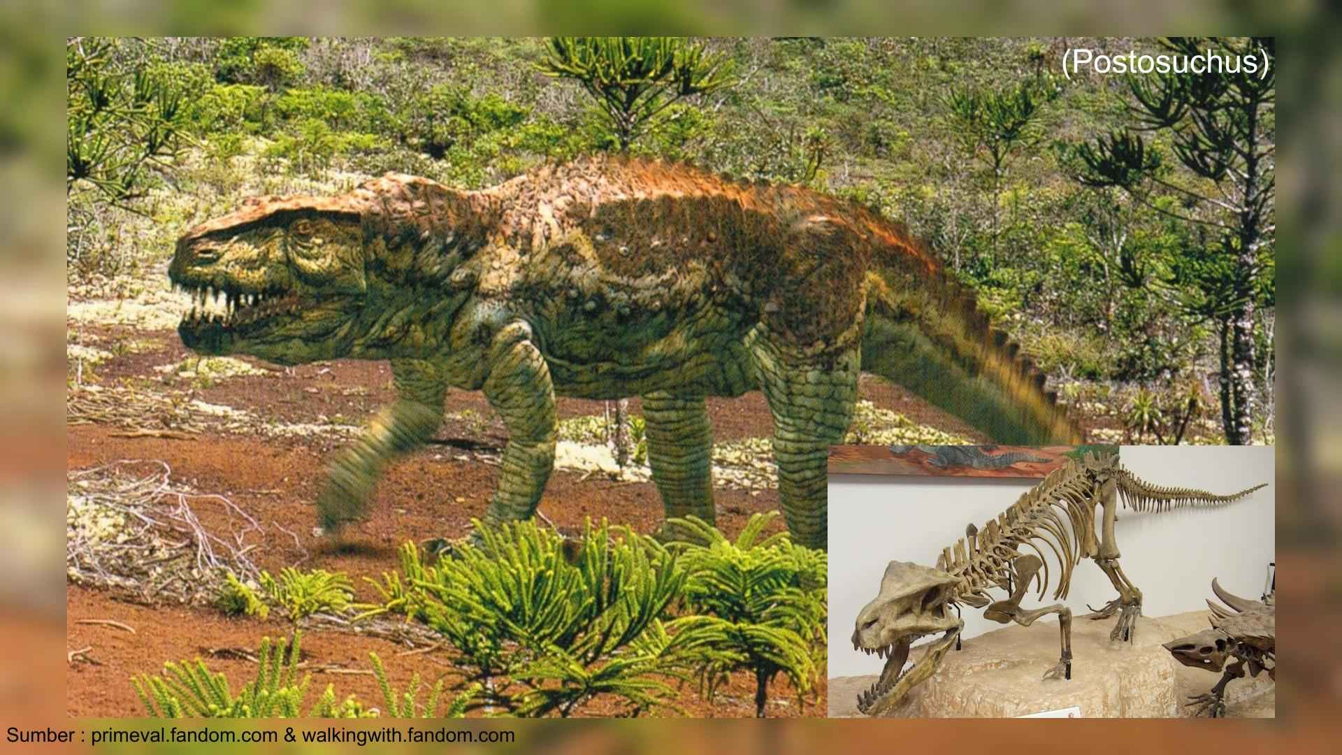 postosuchus walking with dinosaurs