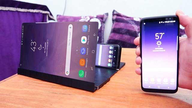 كيف تجعل شاشة هاتفك أكبر لمشاهدة أي شيئ من هاتفك ?!