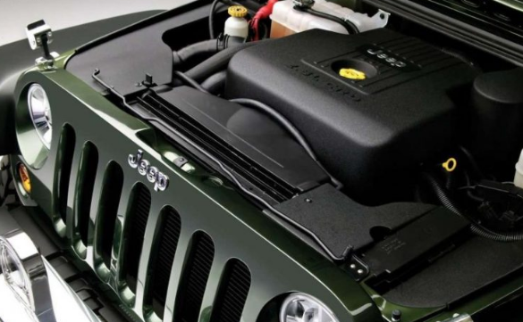 2017 Jeep Gladiator Engine
