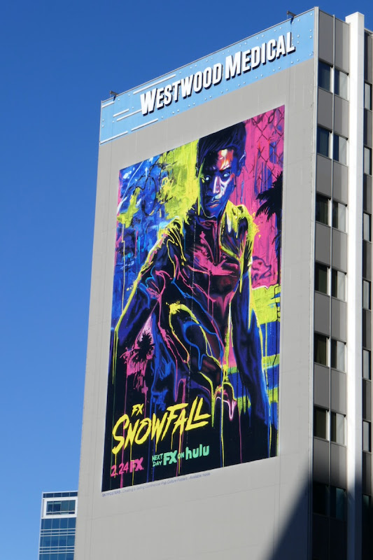 Giant Snowfall season 4 FX billboard