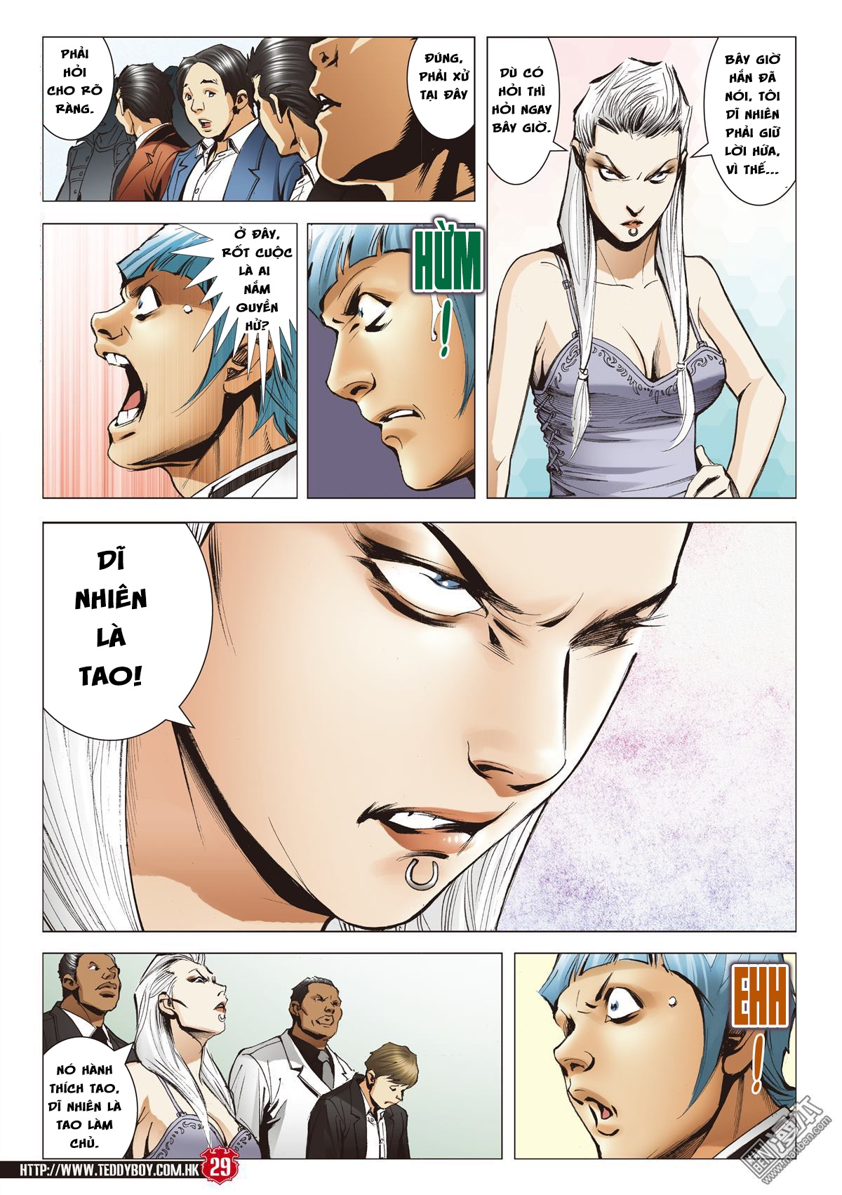 Người Trong Giang Hồ chapter 2067: ánh tỉ làm phản trang 26
