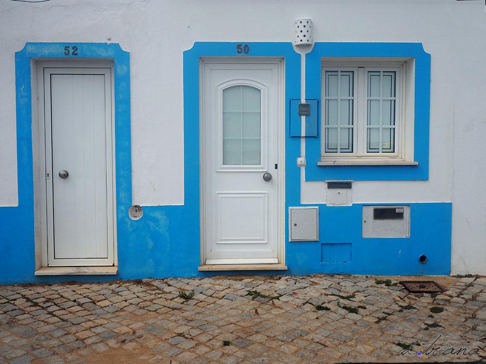 Puertas en Santa Luzia -  Portugal