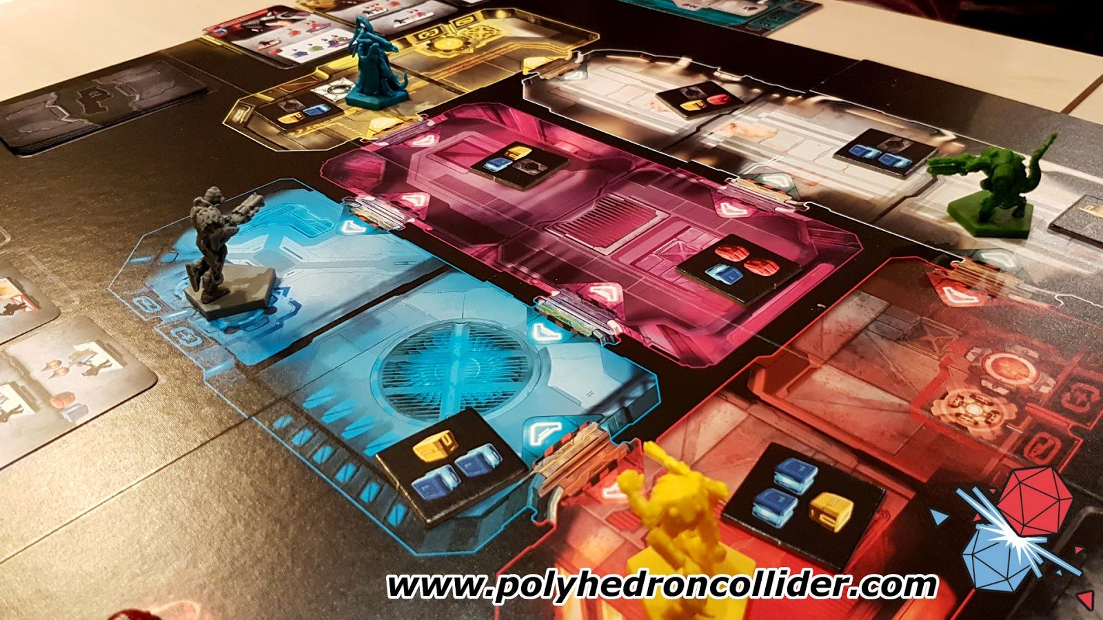 adrenaline first person shooter board game review