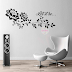 VINILO DECORATIVO PARED FLORAL RAMA - W340