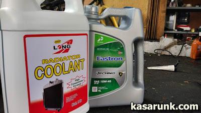 Oli dan Coolant yang baik untuk mobil tua