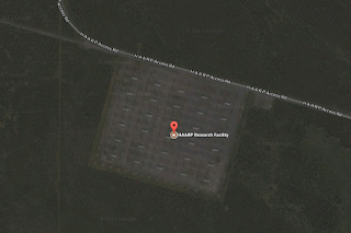 HAARP yang disensor Google Maps