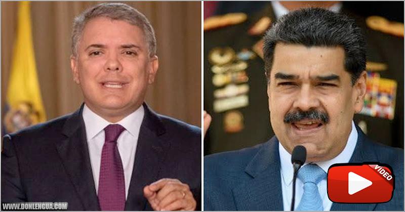 Maduro asegura que Iván Duque contamina de COVID a los venezolanos que regresan al país