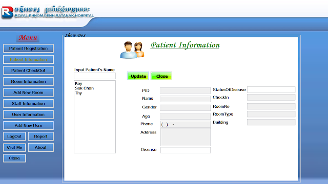 Hospital management system project in vb free download