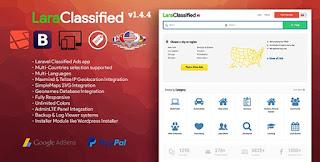 Download LaraClassified v1.4.4 – Geo Classified Ads CMS Script
