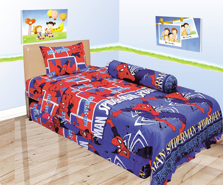 Sprei Lady Rose Single Spiderman