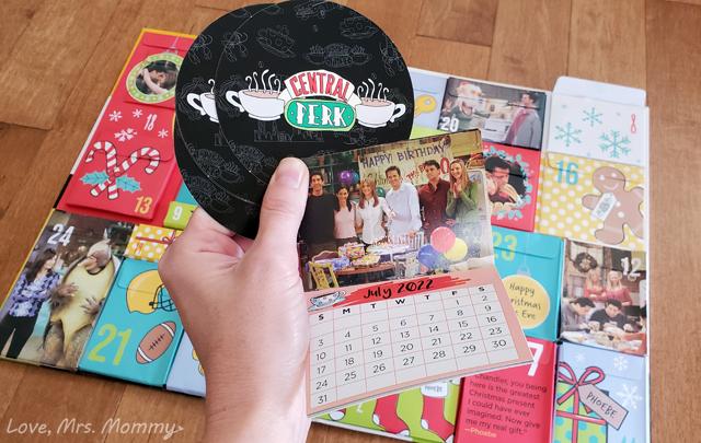insight editions, advent calendars, tv show advent calendars, friends advent calendar, central perk