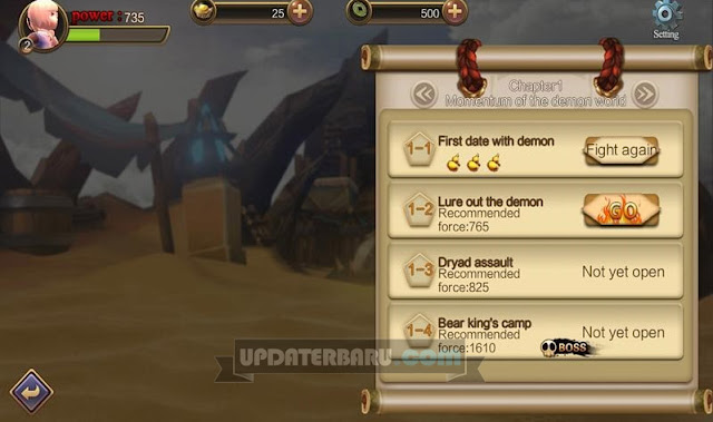 link download Demon Hunter Versi 1.0 Terbaru