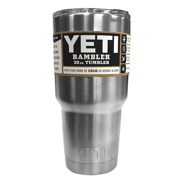 Amazon: YETI Rambler 30 oz Stainless Steel Vacuum Insulated Tumbler with Lid in silver for only $20 (reg $33) - LOWEST PRICE!