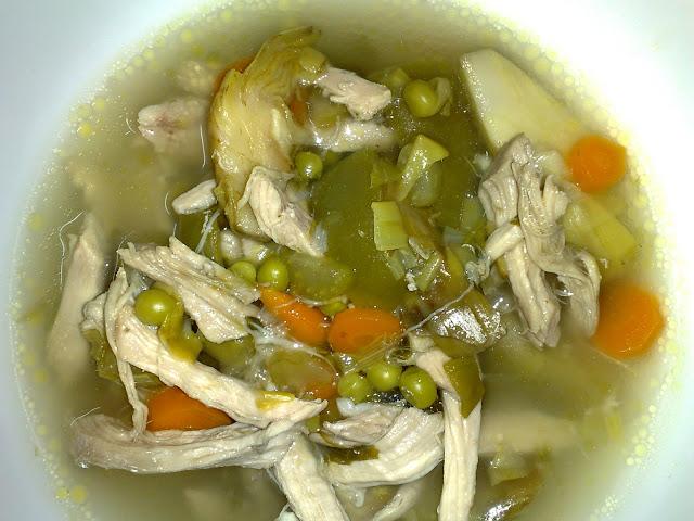 Sopa de pollo / Fue un dia como hoy