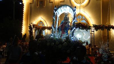 Abertura da Festa da Padroeira Nossa Senhora do Rosário em Delmiro Gouveia reúne centenas de fiéis, confira fotos e vídeos
