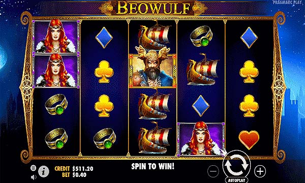 Main Gratis Slot Indonesia - Beowulf (Pragmatic Play)