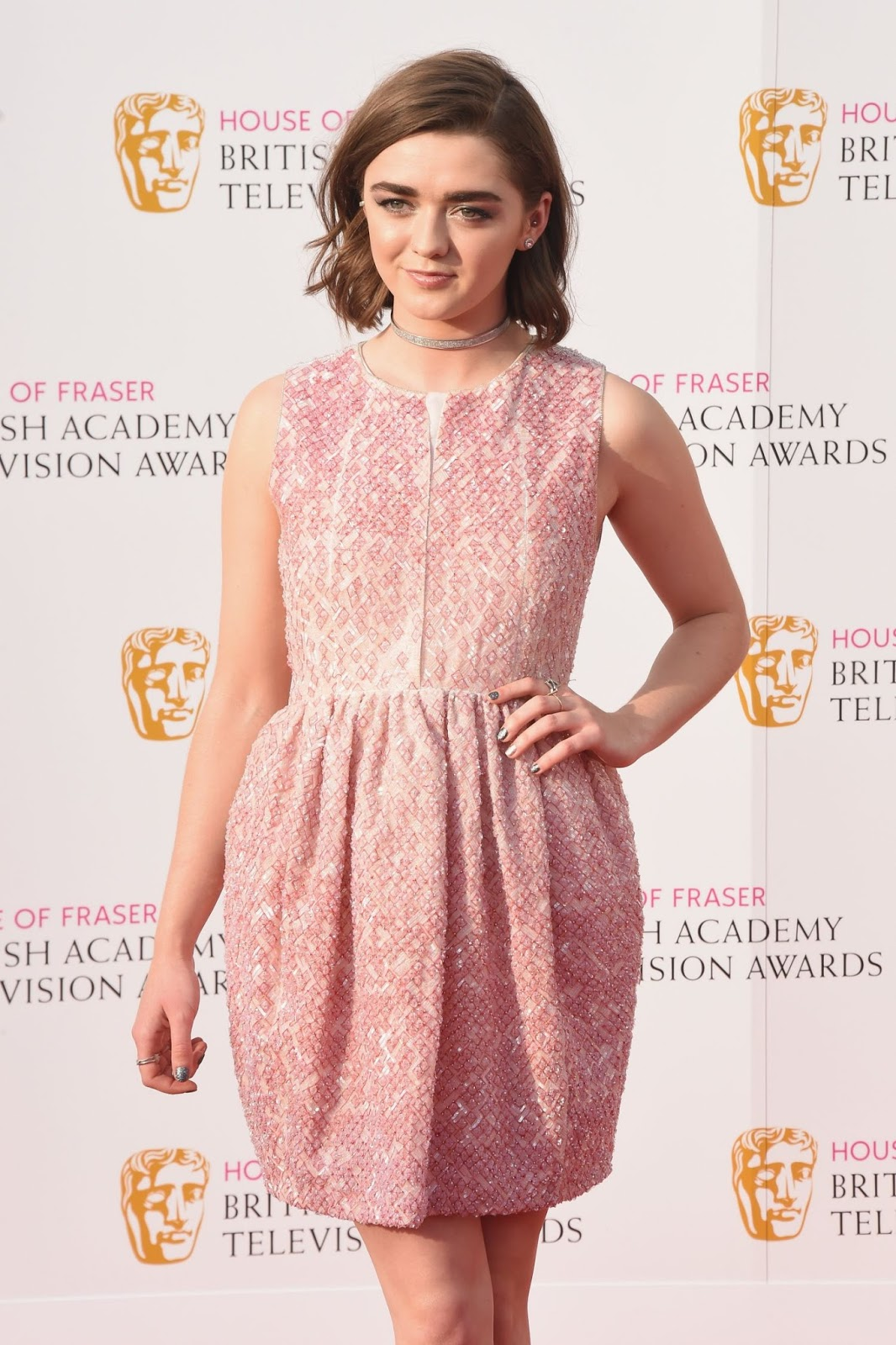 Maisie Williams at House of Fraser British Academy - Photo Maisie Williams 2016