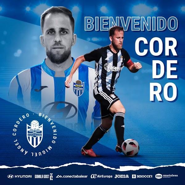 Oficial: Atlético Baleares, firma Miguel Ángel Cordero