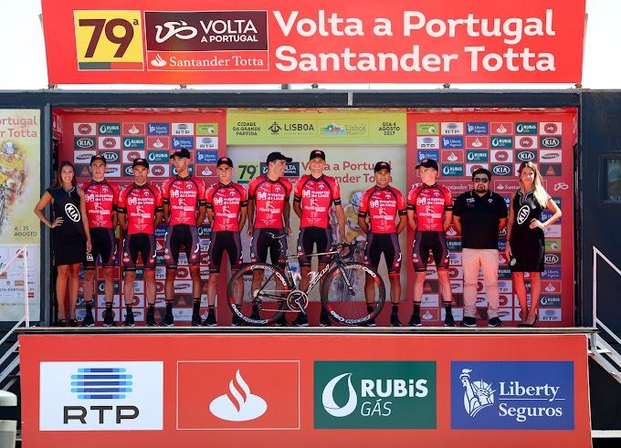 Vicente García de Mateos está a 43 segundos del líder de la Volta a Portugal