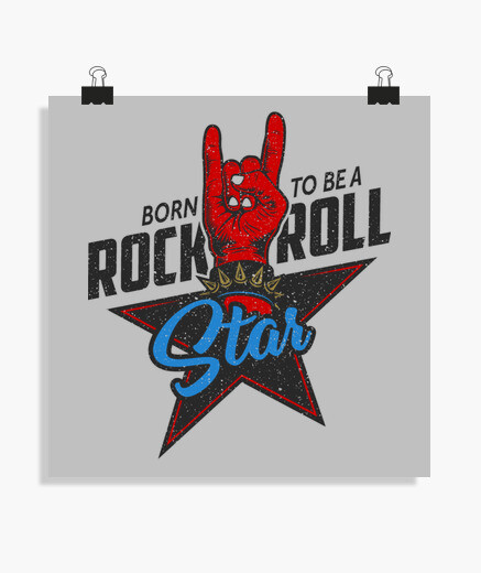 Poster, Posters, Musica, Rock & Roll,
